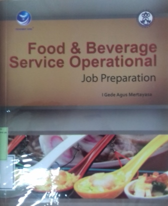 Food and beverage service operational : job preperation