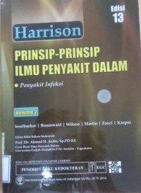 Image of Harrison : Prinsip-prinsip ilmu penyakit dalam = Harrison's principles of internal medicine volume 2